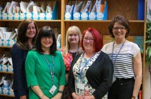 Helen McAdam, Debbie Ainscow, Nicola Winter, Mary Kay Duffie, Andrea Lanaghan
